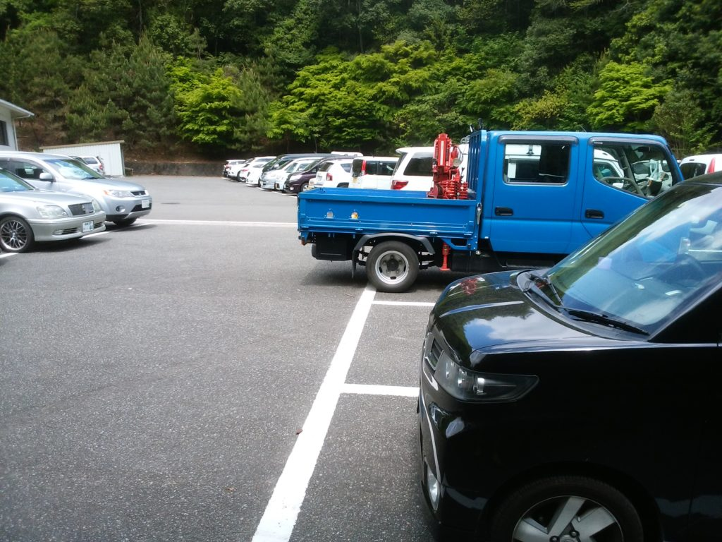 羅漢の里 駐車場