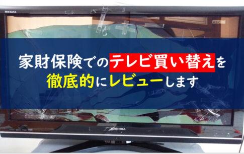 家財保険 テレビ買い替え
