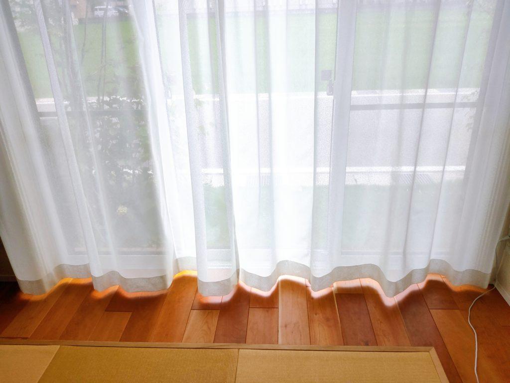 一条工務店 レースカーテン
