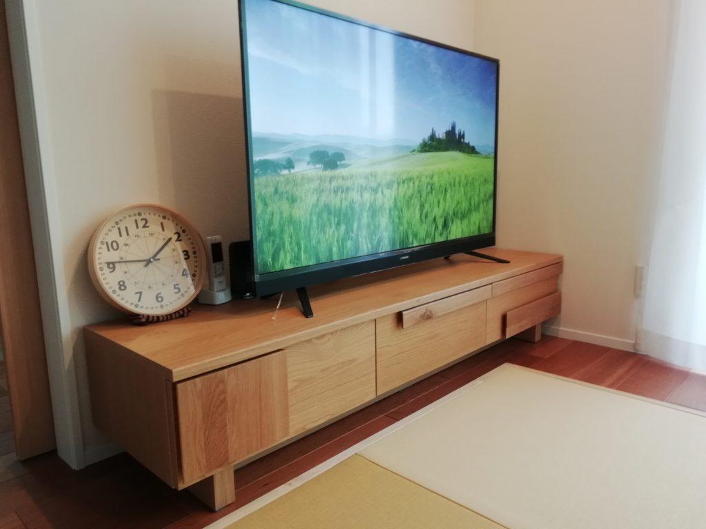 無垢材テレビボード