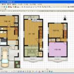 【エクセルで間取り図】テンプレートならドアパーツや素材問題も解決