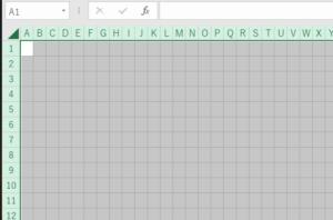 エクセル間取り図作成方法
