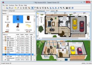 間取りwebブラウザSweet Home 3D
