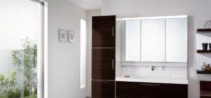積水ハウスシャーウッド標準仕様洗面台