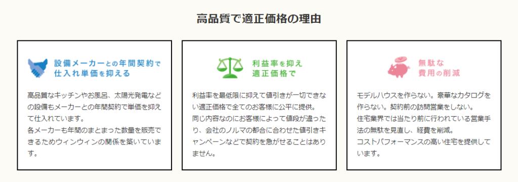 富士住建安い理由