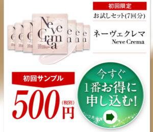 ネーヴェクレマ 500円