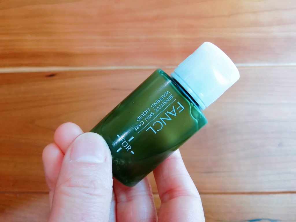 ファンケル乾燥敏感肌ケア洗顔リキッド