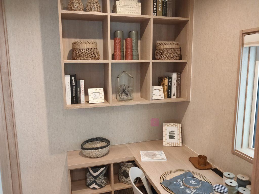 一条工務店グランセゾン 書庫ユニット