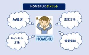 home4u デメリット