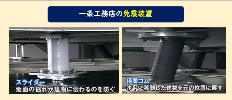 一条工務店 免震装置